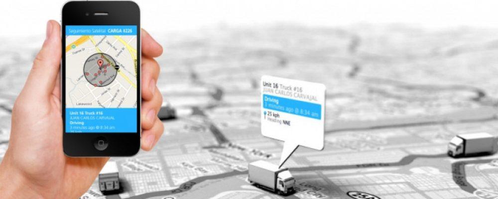 rastreo satelital de vehículos en transito